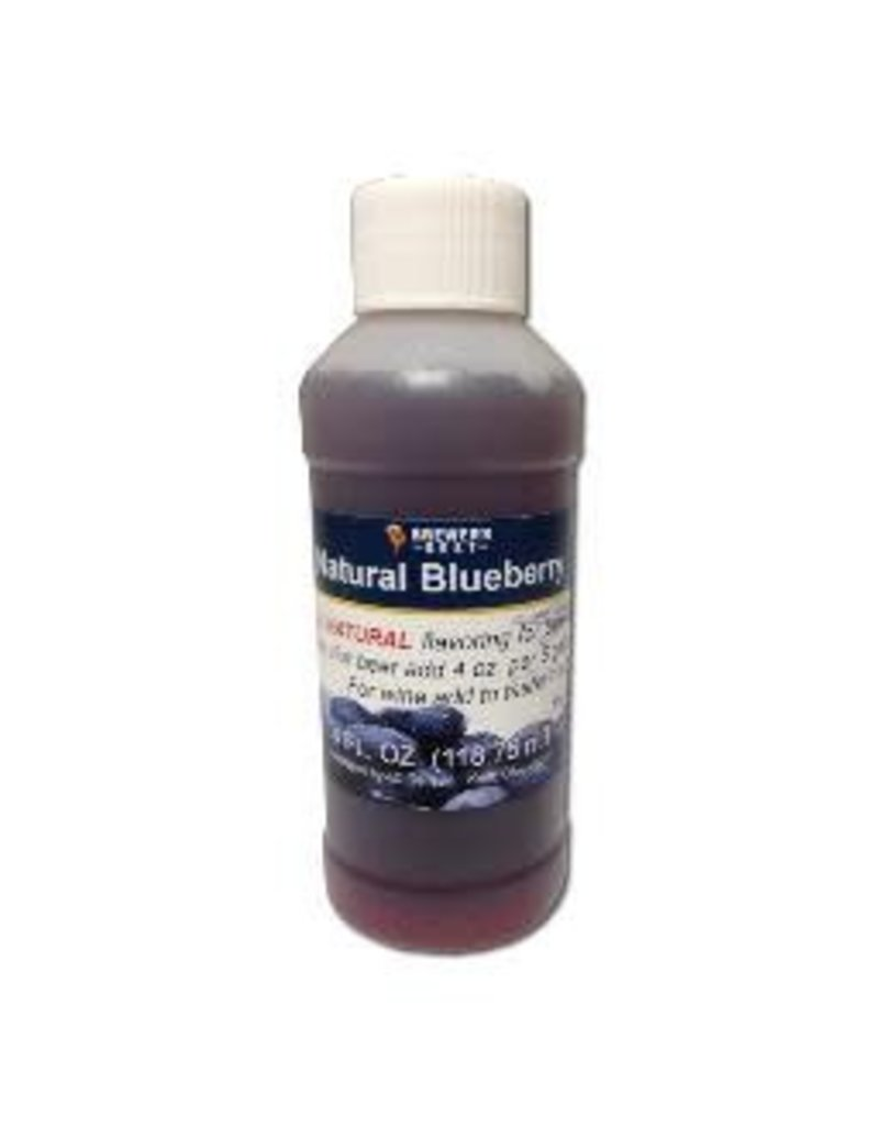 LD CARLSON BLUEBERRY FLAVORING 4oz. NATURAL