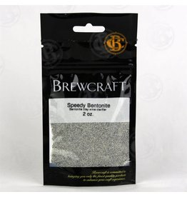 BREWCRAFT BENTONITE- 2oz.