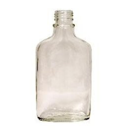 LD CARLSON 200 ML FLINT GLASS FLASK