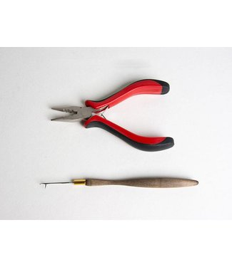 Hair Couture Hair Couture Red Plier Set with Needle