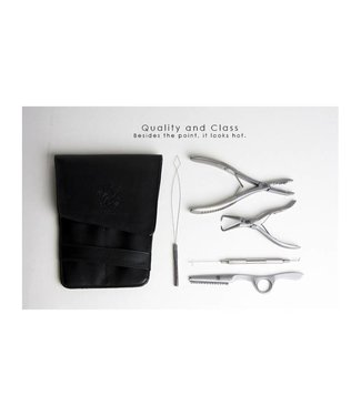 Hair Couture Hair Couture 5PC Tool Kit With Leather Holster
