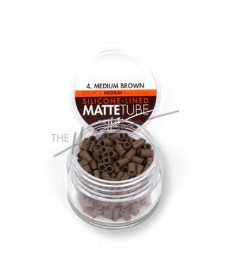 The Hair Shop The Hair Shop Mattetube Silicone Lined (Medium) 3.4mm x 5.0mm