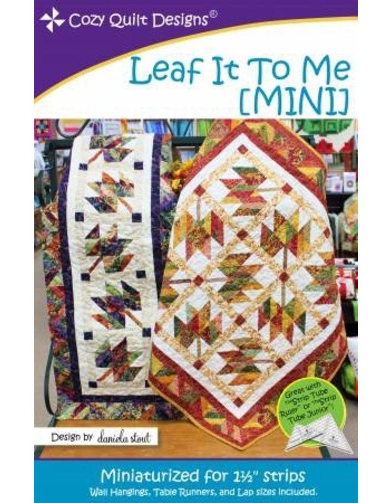 Leaf It To Me (Mini) Pattern