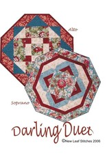 Darling Duet Table Toppers Pattern