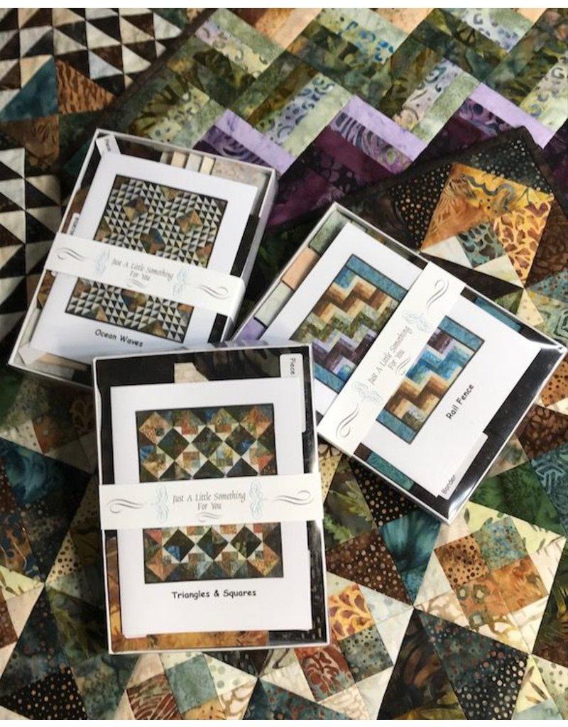 Exploring Batiks Complete Set of Nine Kits and Pattern