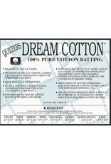 "Quilters Dream Batting Quilters Dream Batting Natural Cotton Request 93"" by the Yard"
