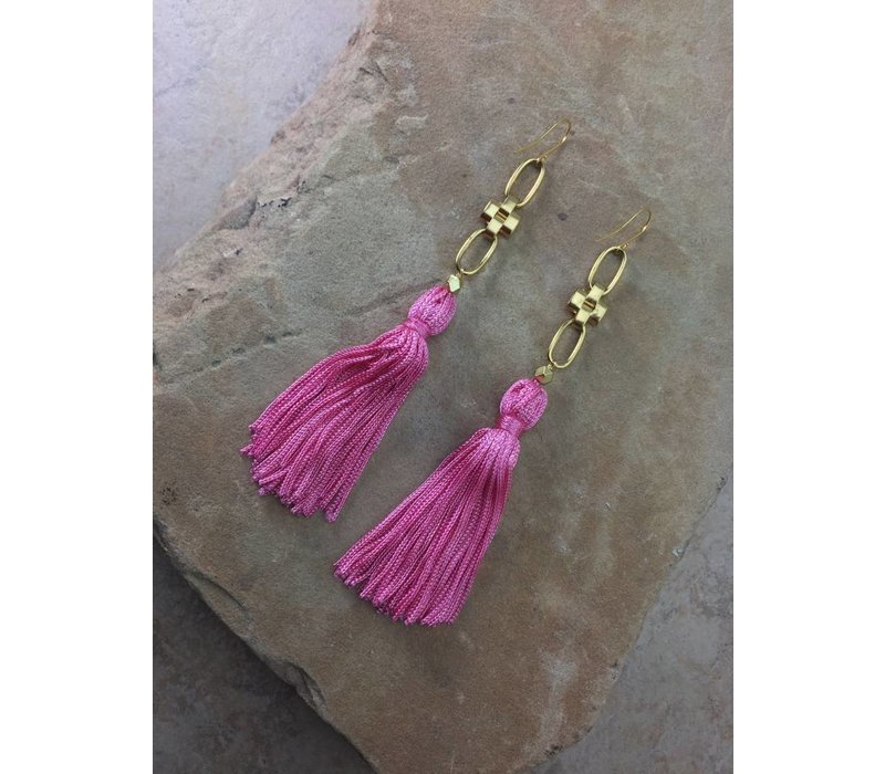The Faith Tassel Earrings