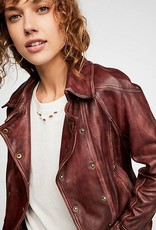 Free People Avis Leather Jacket