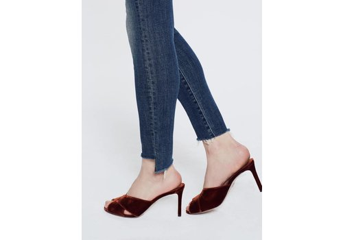Mother The Looker Ankle Step Fray