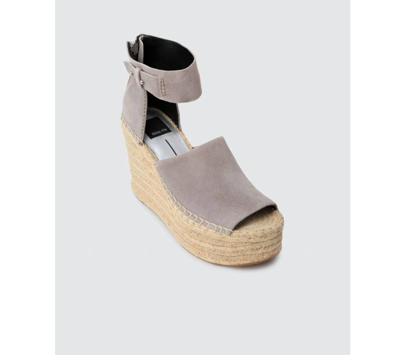 Straw Platform Wedge