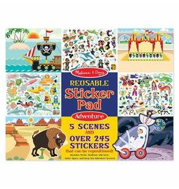 Melissa and Doug Adventure Reusable Stickers