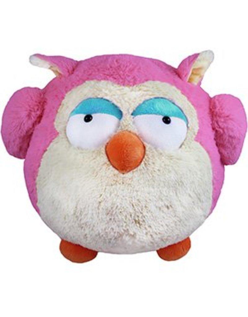Squishables Pink Owl Squishable
