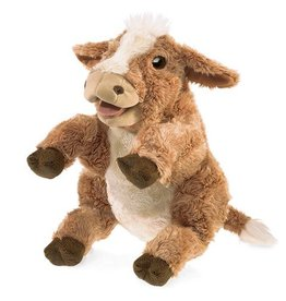 Folkmanis Brown Cow Puppet