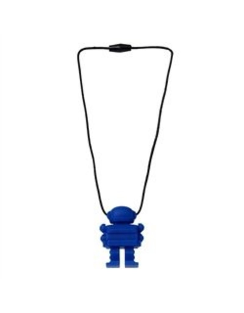 Chew Beads Juniorbeads Spaceman - Blue
