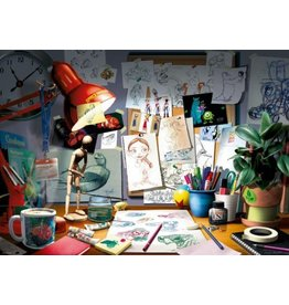 Ravensburger The Artist's Desk 1000 pc