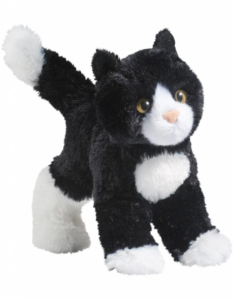 Douglas Snippy Blk/Wht Cat