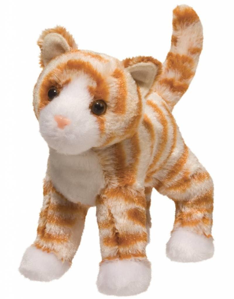 Douglas Hally Orange Striped Cat
