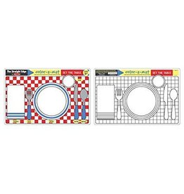 Melissa and Doug Set The Table Color-a-Mat