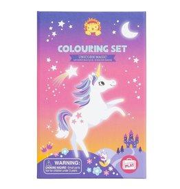 Schylling Unicorn Colouring Set