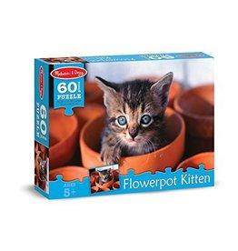 Melissa and Doug Flowerpot Kitten 60 pc