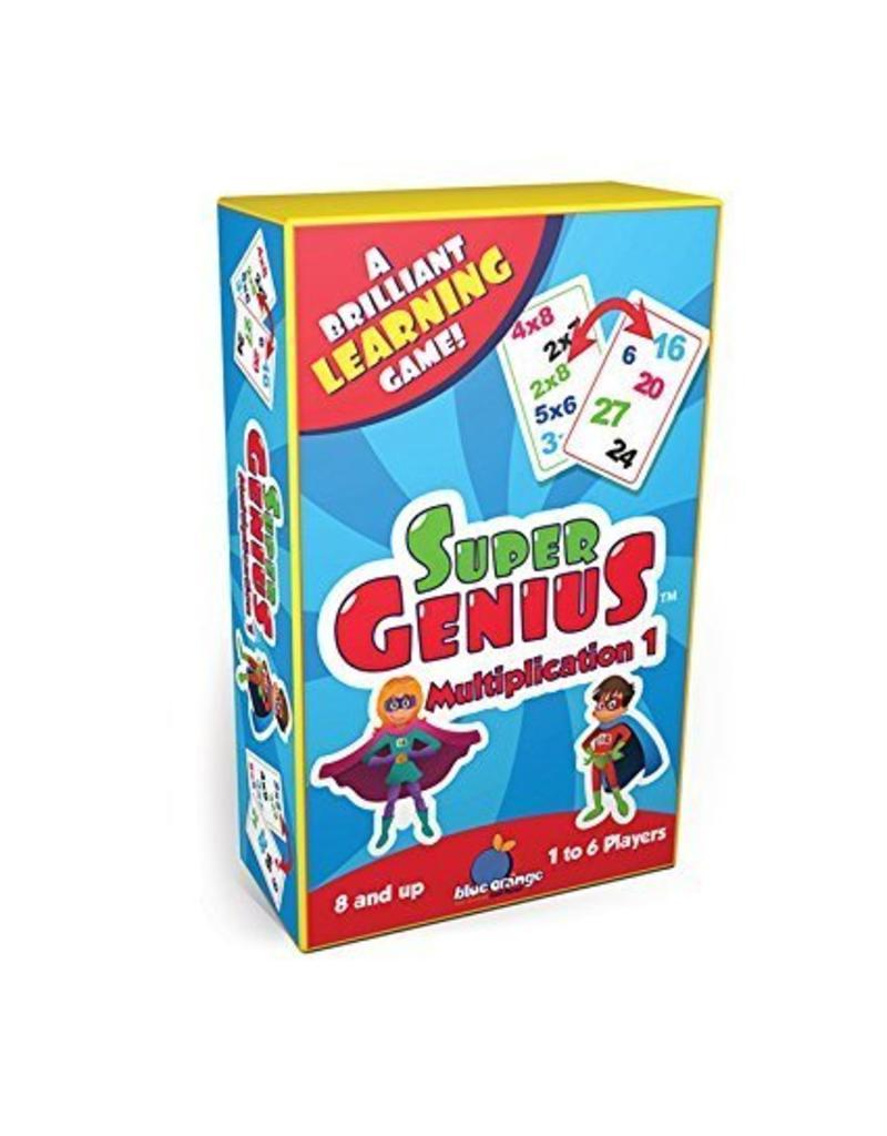 Super Genius Multiplication - Castle Toys and Games LLC