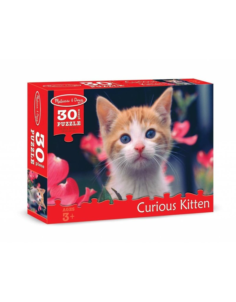 Melissa and Doug Curious Kitten 30 pc