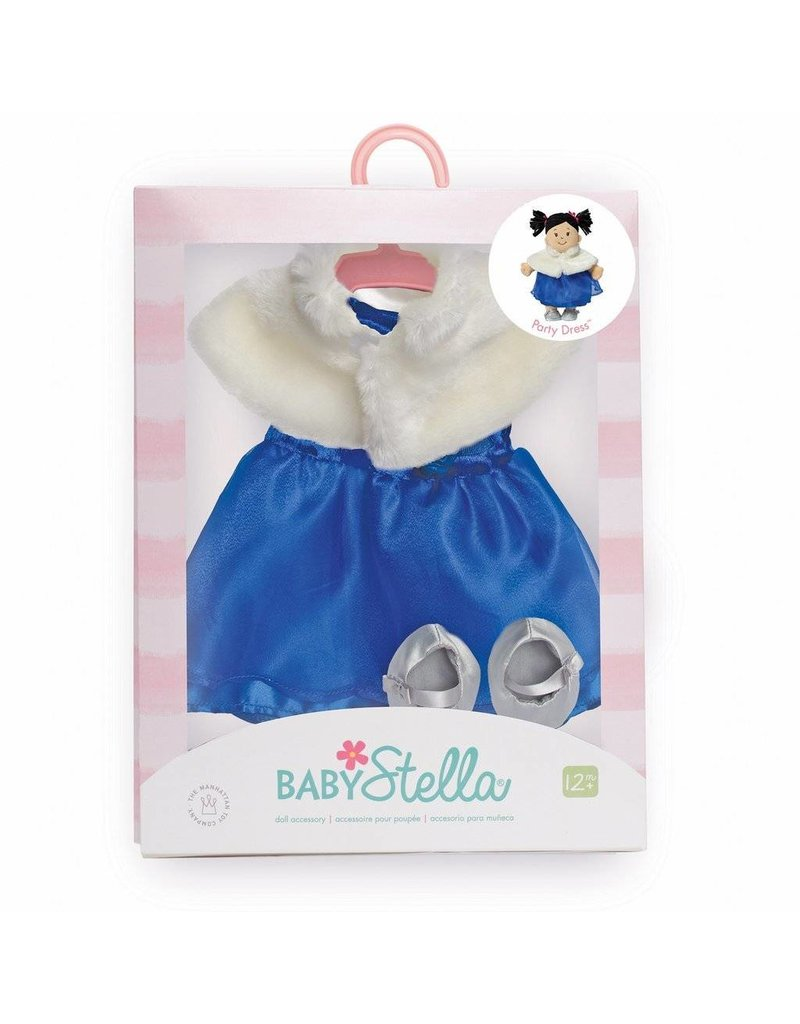 Manhattan Toys Baby Stella Party Dress