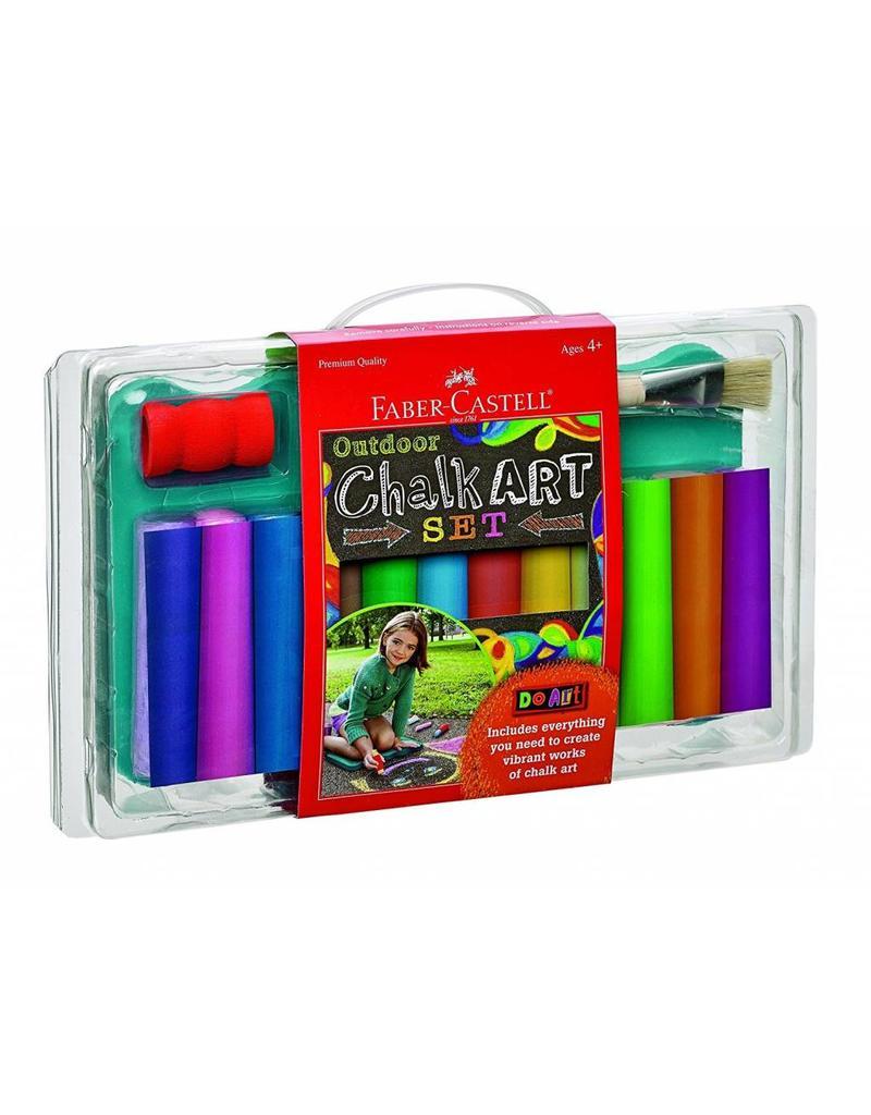 Faber Castel Do Art Outdoor Chalk Art Set