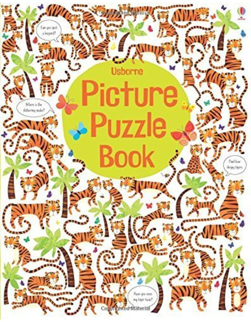 Educational Dev Picture Puzzle Book