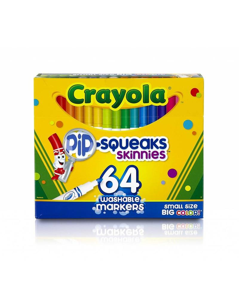Crayola 64 Pip-Squeaks Markers - Castle Toys and Games LLC
