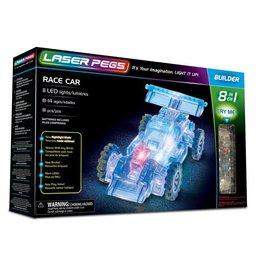 Laser Pegs 8 in 1 Race Car