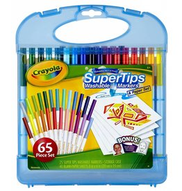 Crayola Super Tips Washable Markers Kit