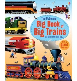 Educational Dev Big Book of Big Trains