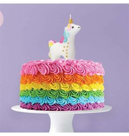 Two's Company Unicorn Candle