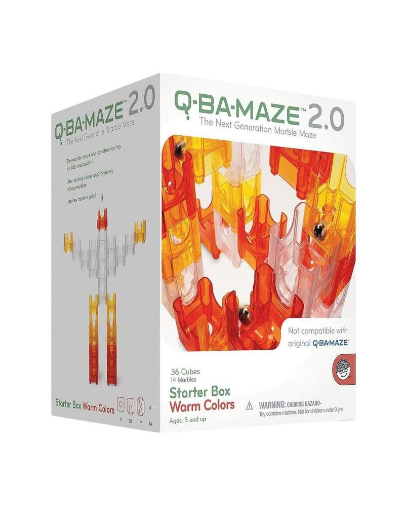 Mindware Q-BA-MAZE Starter Set Warm