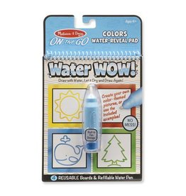 Melissa and Doug Water WOW Colors & Shapes