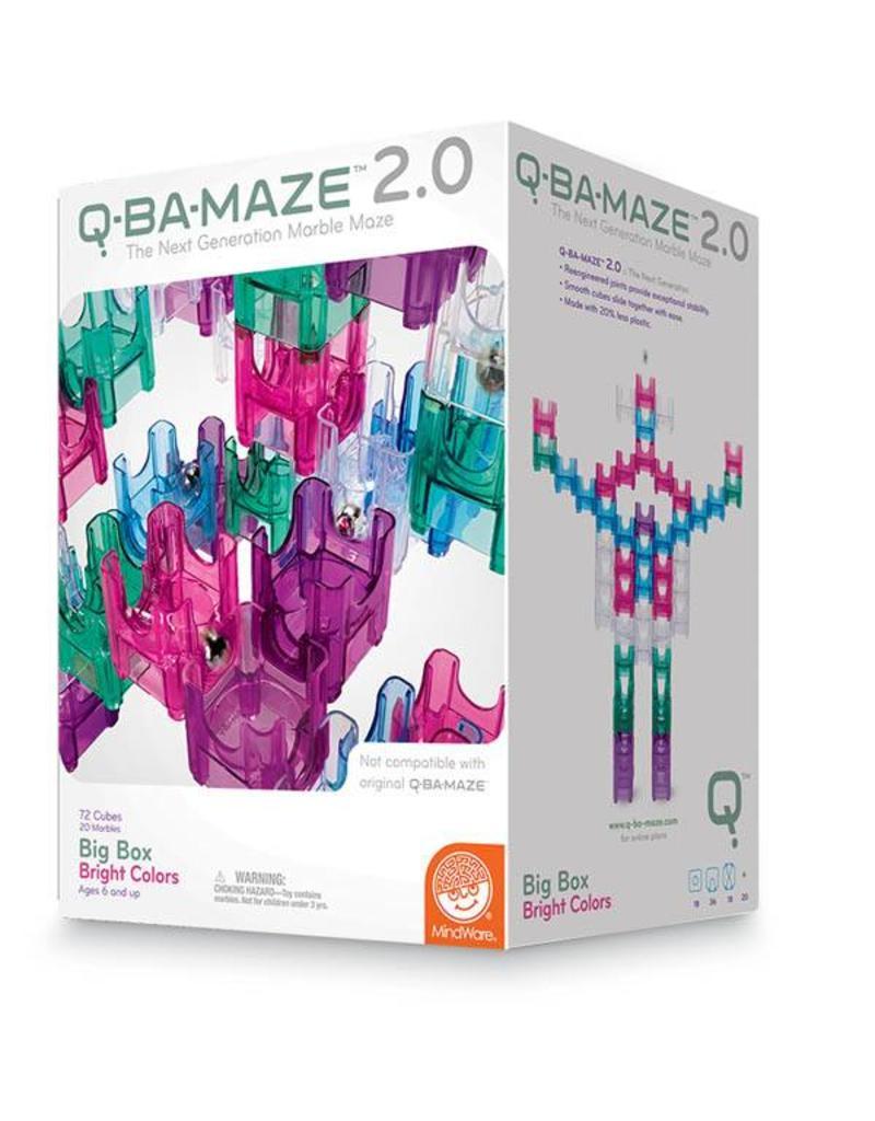 Mindware Q-BA-MAZE Big Box Bright Colors