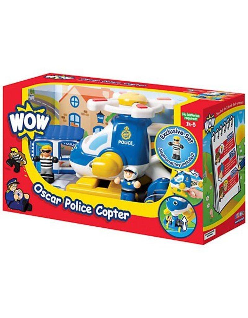 Wow Toys Oscar Police Copter