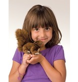 Folkmanis Mini Red Squirrel Puppet
