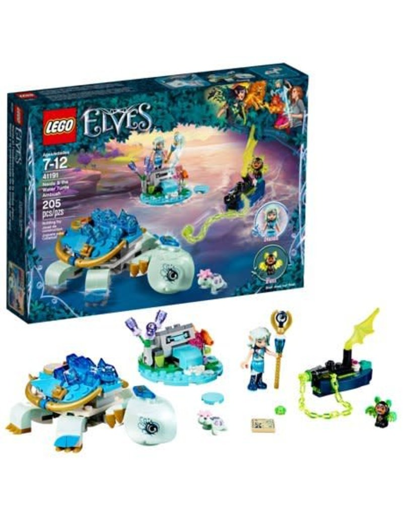 Lego Elves Naida & the Water Turtle Amb