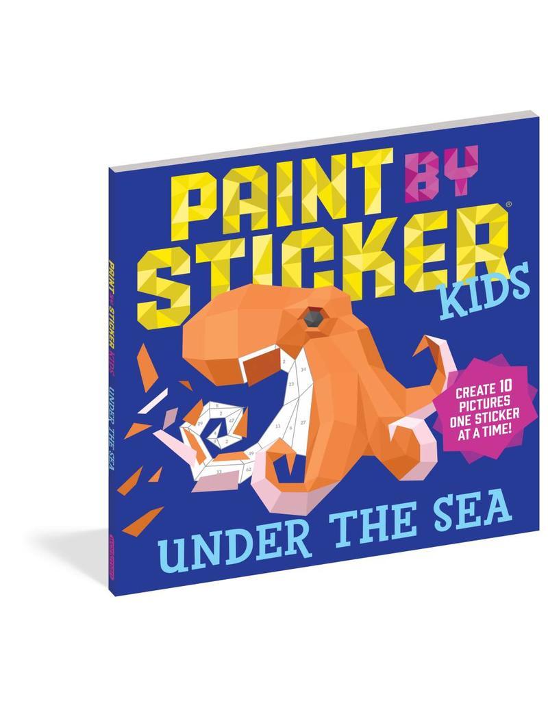 Workman Pub Kids Paint by Sticker - Sea