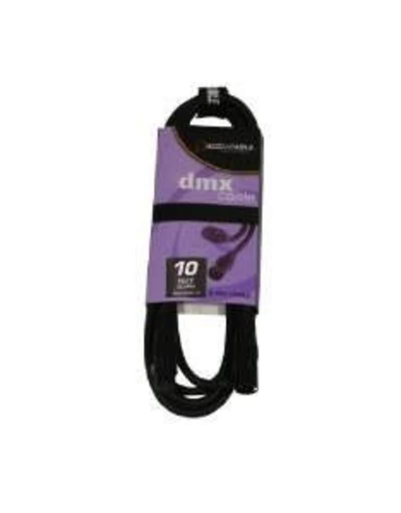 DMX Cable 5-pin 10'