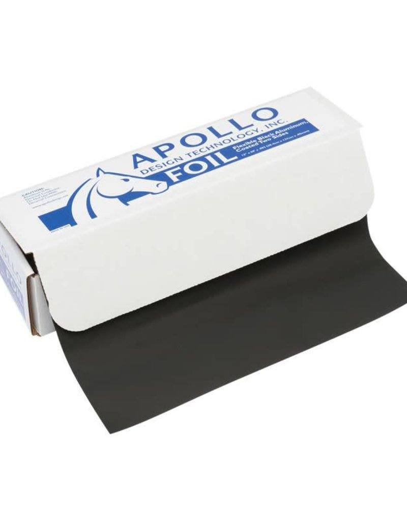 Apollo Design Technology Inc. FOIL Black Wrap Roll