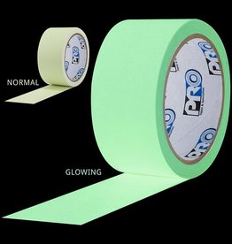"Pro Tapes Glow Tape 1"" or 1/2"""