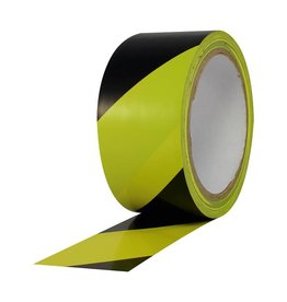 "Pro Tapes Caution / Safety Tape 2"" x 18 yds"
