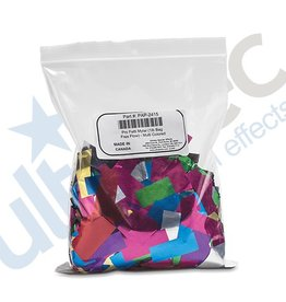 Ultratec Special Effects Inc. Pro Fetti 1lb Bag of Free Flow Metallic PVC Confetti