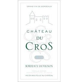 BORDEAUX BLANC Chateau Du Cros Bordeaux Sauvignon Blanc 2014 750ml France