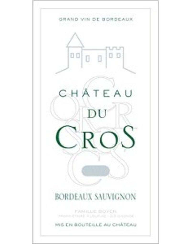 BORDEAUX BLANC Chateau Du Cros Bordeaux Sauvignon Blanc 2014 750ml