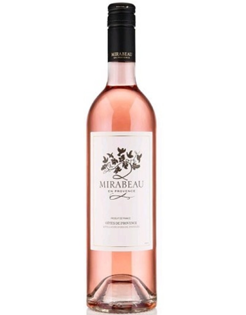Rose Mirabeau Cotes de Provence Rose 2017 750ML France