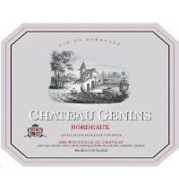 Bordeaux Red Chateau Genins Bordeaux 2017 375ml
